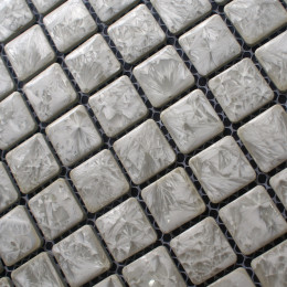 Gray Porcelain Tile Mosaic Glazed Ceramic Bathroom Wall and Floor Tiles Kitchen Backsplash