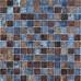 Antique Glass Mosaic Tile Multi Colored Crystal Backsplash Tile for Kitchen Glossy Accent Bathroom Tiles