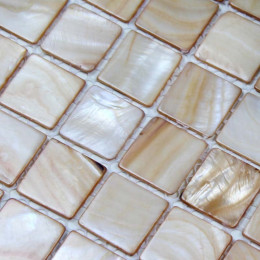 Brown Mother of Pearl Tile Stained Shell Mosaic for Kitchen Backsplash Bathroom Shower Wall Tiles