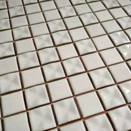 White Gray Ceramic Mosaic 3D Pinwheel Porcelain Tile Backsplash Bath Shower Floor and Wall Tiles