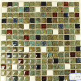 Italian Porcelain Tiles Multi-colored Kitchen Backsplash Glazed Ceramic Modern Tile for Bathrooms
