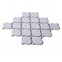 White Ceramic Mosaic Waterjet Tile Lantern Arabesque Porcelain Backsplash Wall and Floor Tiles