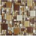 Glossy Glass Tile Kitchen Backsplash Random Crystal Mosaic Bathroom Wall and Floor Tiles