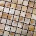 "Natural Mother of Pearl Tile Square Shell Mosaic Backsplash Kitchen Bathroom Wall Tiles (Tile Size: 3/5"" x 3/5"" x 1/12"")"