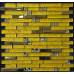 Gold Stainless Steel and Glass Backsplash Tiles Crystal Rhinestone Mosaic Metallic Tile Interlocking